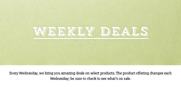 2016.03.08 Weekly Deals
