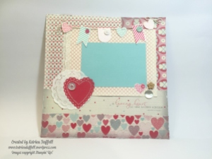 Traditional 12x12 inch Scrapbook Layout