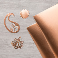 Stampin' Up! Copper Foil Paper