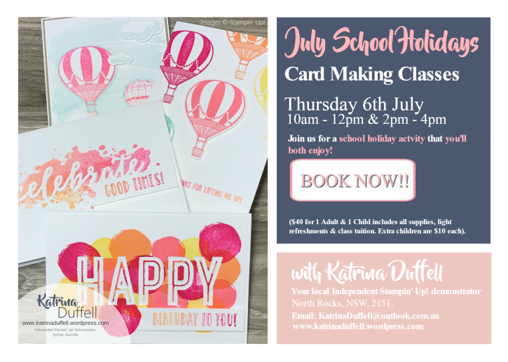 15.06.2017 July School Holiday Classes FB event flyer