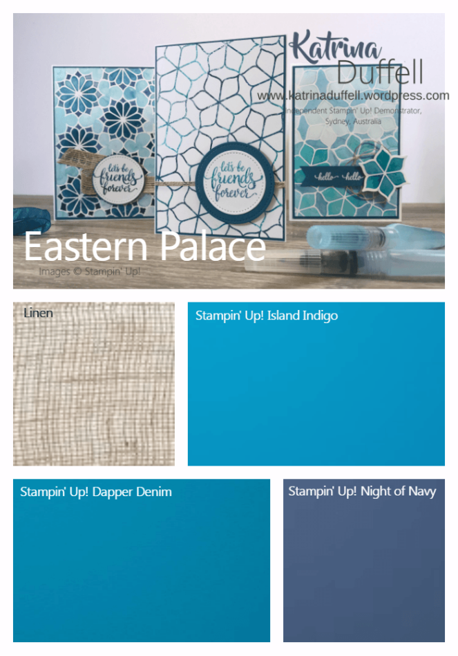 Eastern Palace Colour Combo Inspiration Board