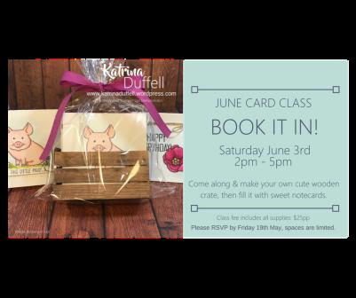 June Class FB Event