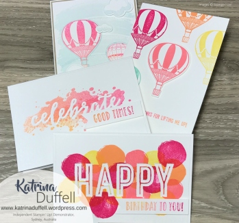 15.06.2017 Lift Me Up & Happy Celebrations Cards July Class 01